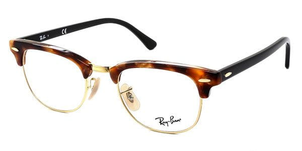 9dfa503858 Ray-Ban RX5154 Clubmaster Fleck 5494 Glasses Brown