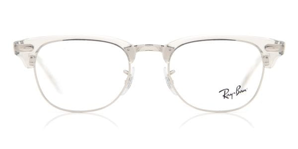 9c582545c Ray-Ban RX5154 Clubmaster 2001 Eyeglasses in Clear | SmartBuyGlasses USA