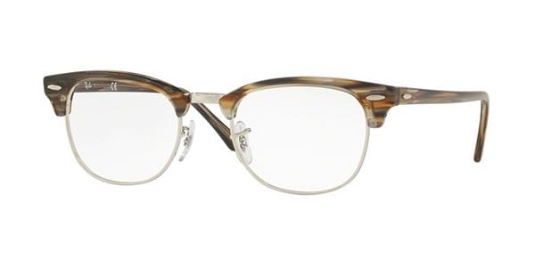 bbf651dbcd8 Ray-Ban RX5154 Clubmaster 5749 Glasses Brown