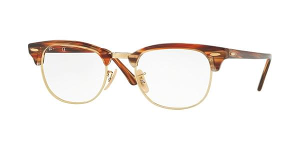 c4dde9a89d Ray-Ban RX5154 Clubmaster 5751 Glasses Brown