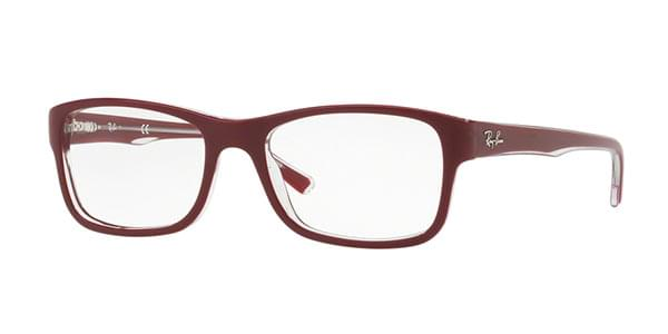 Ray-Ban RX5268 Youngster 5738 Glasses Red   SmartBuyGlasses India 1fc4fec514b1
