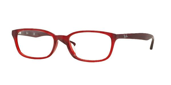 ee2360ff7f Ray-Ban RX5333D Highstreet Asian Fit 5510 Glasses Burgundy ...