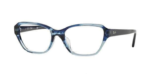 d30be6d378 Ray-Ban RX5341F Highstreet Asian Fit 5572 Eyeglasses in Blue ...