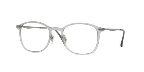 4dc7be3638c1c Óculos de Grau Ray-Ban Tech RX7051 Light Ray 5482 Transparente ...