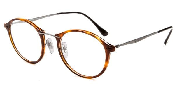 3951be41686 Ray-Ban Tech RX7073 Light Ray 5588 Glasses Tortoise ...