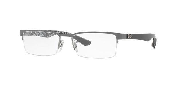 68ef2dd9799 Ray-Ban Tech RX8412 Carbon Fibre 2893 Eyeglasses in Grey ...
