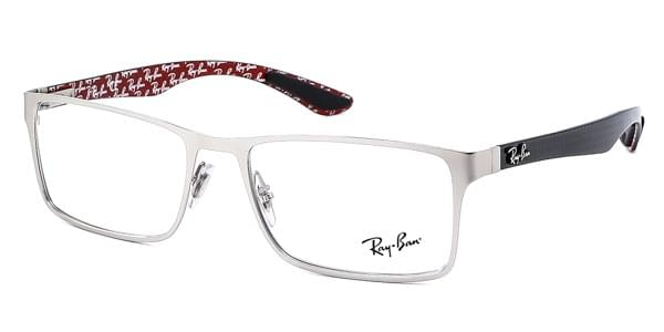 d456d52a0a Ray-Ban Tech RX8415 Carbon Fibre 2538 Glasses Silver ... Ray-Ban 8415  Prescription Eyeglasses