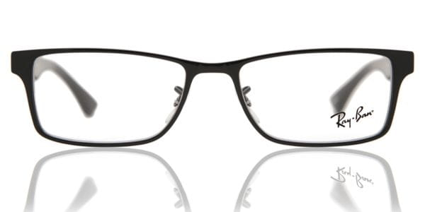 44578de16dd6 Ray-Ban RX6238 Highstreet 2509 Eyeglasses in Shiny Black ...