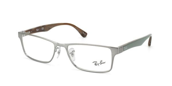 8c2a2823c79d Ray-Ban RX6238 Highstreet 2731 Glasses Brushed Gunmetal Brown ...