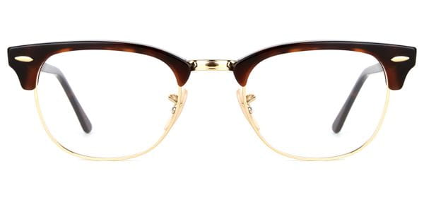 e187e562daf Ray-Ban RX5154 Clubmaster 2372 Eyeglasses in Gold