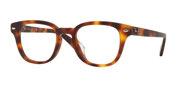 273862ae10 Ray-Ban RX5328D Highstreet Asian Fit 5195 Glasses Matte Havana ...