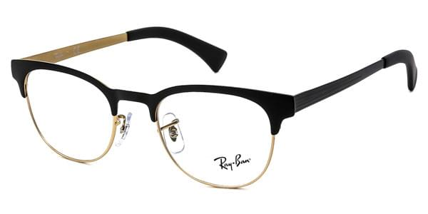 c0ff4b3f96e78 Lunettes Ray-Ban RX6317 2833 Top Black On Matte Gold   Easylunettes