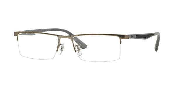 7f3076948 Óculos de Grau Ray-Ban RX6322D Highstreet Asian Fit 2620 Matte ...