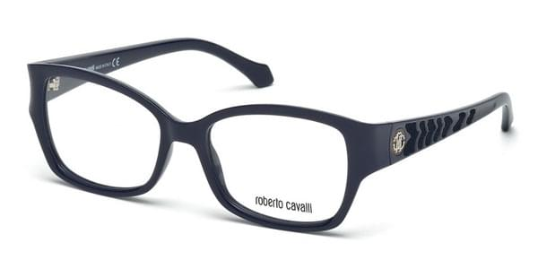 f164ce6050 Roberto Cavalli RC 772 MOYENNE 090 Glasses Shiny Dark Blue ...