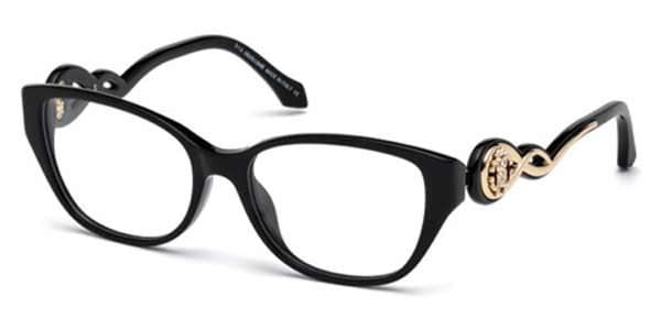 Roberto Cavalli RC 5029 CAMAIORE 001 Eyeglasses in Black ...