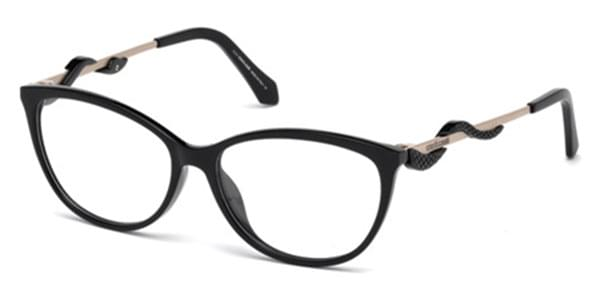 Roberto Cavalli Rc 5007 Arbia 001 Eyeglasses In Black