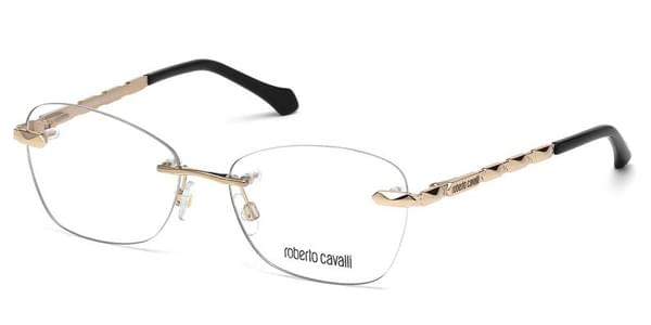 719918562d Roberto Cavalli RC 0847 028 Glasses Gold