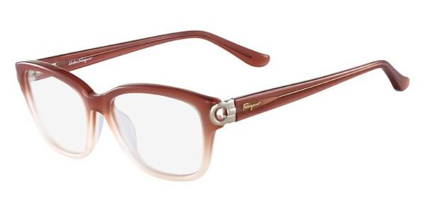 530cee836a Salvatore Ferragamo SF 2734 606 Glasses Brown