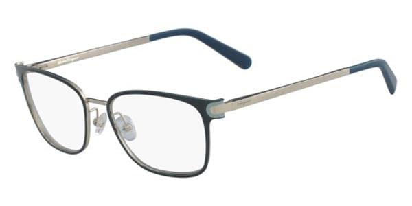 83b0fbec25 Salvatore Ferragamo SF 2159 428 Glasses Blue