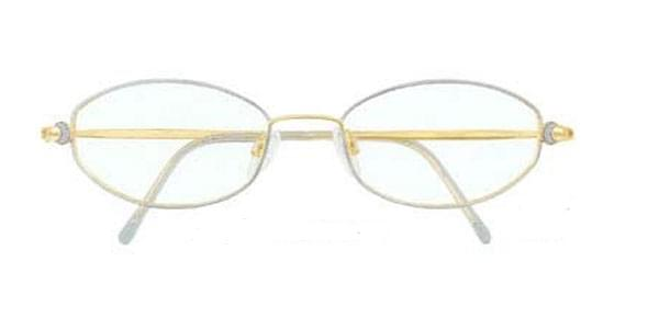 5d4acf9930126 Silhouette 6559 6058 Eyeglasses in Gold   SmartBuyGlasses USA