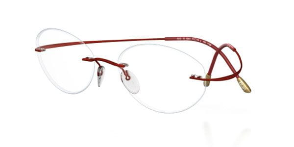 2bd3b3f9c4a Silhouette TMA THE MUST COLLECTION 6668 6066 Eyeglasses in Red ...