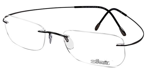 18fb10d324f4 Silhouette TMA THE MUST COLLECTION 7612 6107 Glasses Black ...