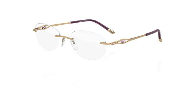 7fead6632934 Silhouette CARESSE 4487 6053 Eyeglasses in Gold