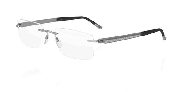 32c0cd2813 Silhouette CARBON REFINED 5444 6052 Eyeglasses in Silver ...