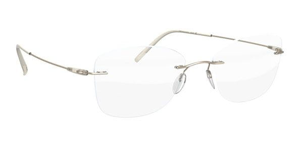 745739913a7 Silhouette Dynamics Colorwave 5500 AW 8540 Eyeglasses in Silver ...