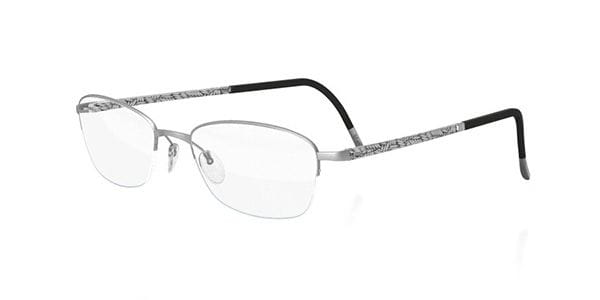 d3095f3e372 Silhouette ILLUSION NYLOR 4453 6050 Eyeglasses in Silver ...