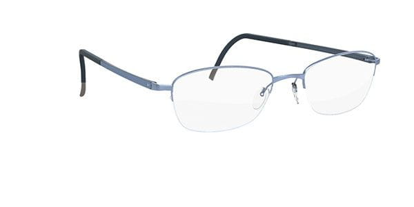 d845c6f3d87 Silhouette ILLUSION NYLOR 4453 6074 Eyeglasses in Blue ...