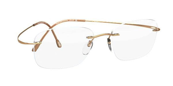 4ff4f55e9901 Silhouette TMA Must Collection 2017 5515 CR 7530 Eyeglasses in Gold ...