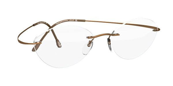 3aa7445f30 Silhouette TMA Must Collection 2017 5515 CV 8540 Eyeglasses in Brown ...