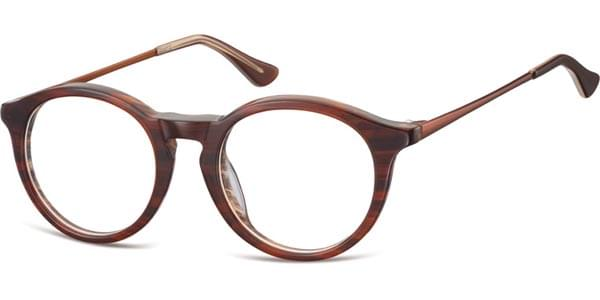 b118c34304 SmartBuy Collection Raw F AC47 Eyeglasses in Brown