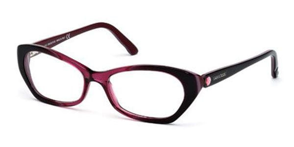 bcc0c2815de0 Swarovski SK 5067 071 Eyeglasses in Dark Wine Red