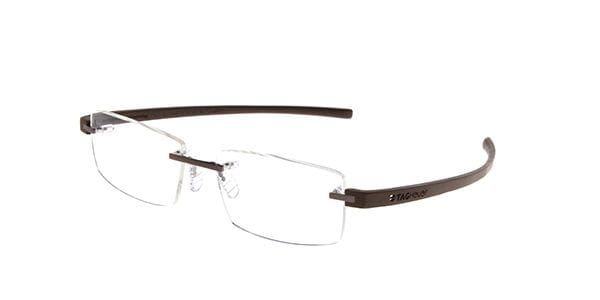 d500c9b110 Lentes Opticos Tag Heuer Reflex 3 Rimless TH3941 009 Café ...