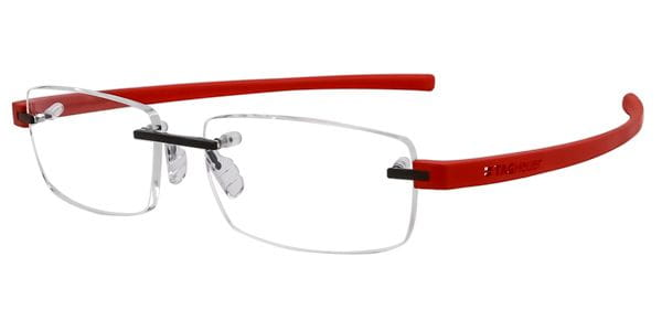 81a96481871 Tag Heuer Reflex 3 Rimless TH3943 002 Glasses Red