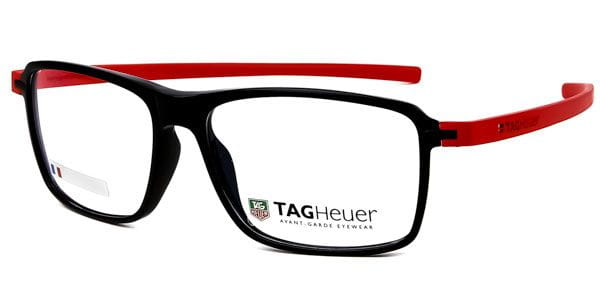 f70dc60bb799 Tag Heuer Reflex 3 Acetate TH3952 004 Glasses Red