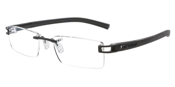 3a05528b05 Tag Heuer Reflex Fold Rimless TH7641 001 Glasses Black ...