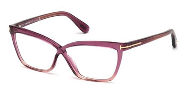 041a18cf57a73 Óculos de Grau Tom Ford FT5267 071 Bordô   OculosWorld Brasil