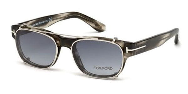 aebdc18d3d2bea Lunettes Tom Ford FT5276 020 Grey + Clip On