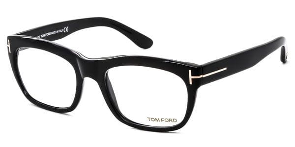 5cc61e07ad6 Tom Ford FT5277 001 Eyeglasses in Glossy Black