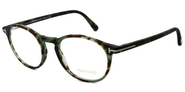 tom ford ft5294 055 brille brown with spotted green. Black Bedroom Furniture Sets. Home Design Ideas
