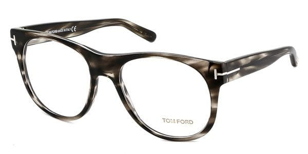 724baec3d3 Tom Ford FT5314 020 Eyeglasses in Black Striped Horn ...