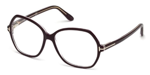 42a91cc41fe3e Óculos de Grau Tom Ford FT5300 071 Bordô   OculosWorld Brasil