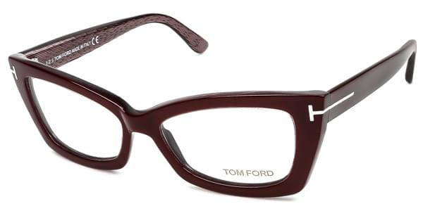 586ae6ae42a27 Óculos de Grau Tom Ford FT5363 071 Bordô   OculosWorld Brasil