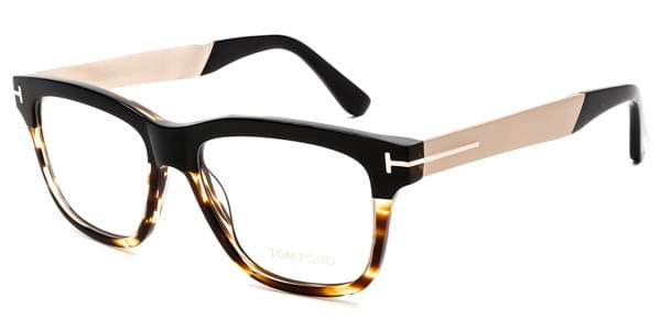 tom ford ft5372 005 glasses black | smartbuyglasses singapore