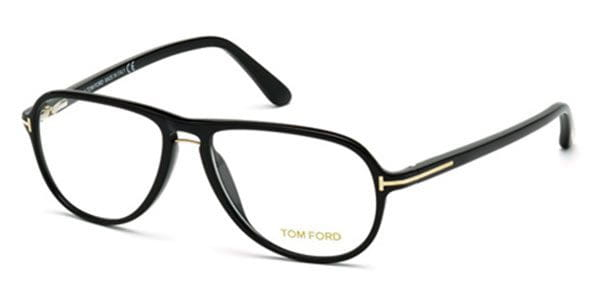 4306096216d Tom Ford FT5380-F Asian Fit 001 Eyeglasses in Black ...