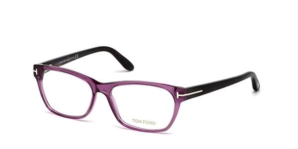 4f91f9a50a1ec1 Tom Ford FT5405 081 Eyeglasses in Purple   SmartBuyGlasses USA