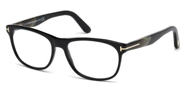1c3013ad35 Tom Ford FT5431-F Asian Fit 001 Glasses Black | VisionDirect Australia